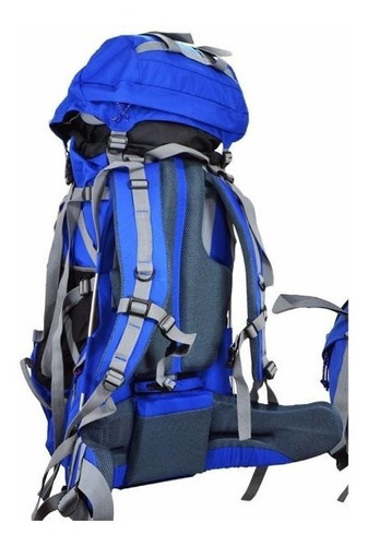 mochila mochilero makalu 75 + 15 lts sherpa trekking montaña