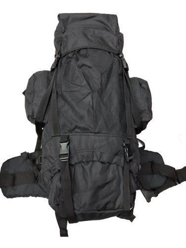 mochila mochilero terra 60 lts camping varillas de aluminio