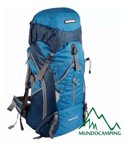 mochila mochilero waterdog cabrera 60 litros camping