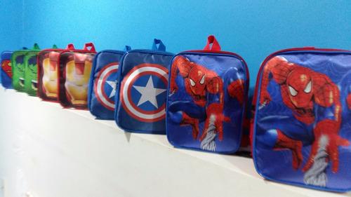 mochila mochilinha infantil personalizada  os vingadores