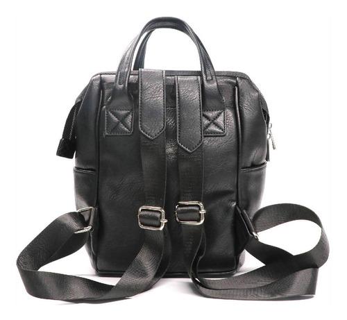 mochila moira negra mujer lounge