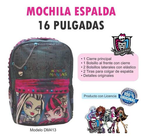 mochila monster high