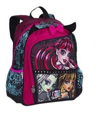mochila monster high g com asas sestini- 64193