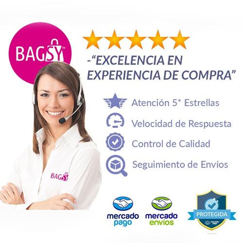 mochila mujer bag stage color suela jaspeada tachas . bagsy