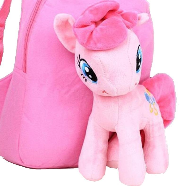 8fd82705fe4 Mochila My Little Pony Pinkie Pie Felpa Y Algodón -   549.00 en ...