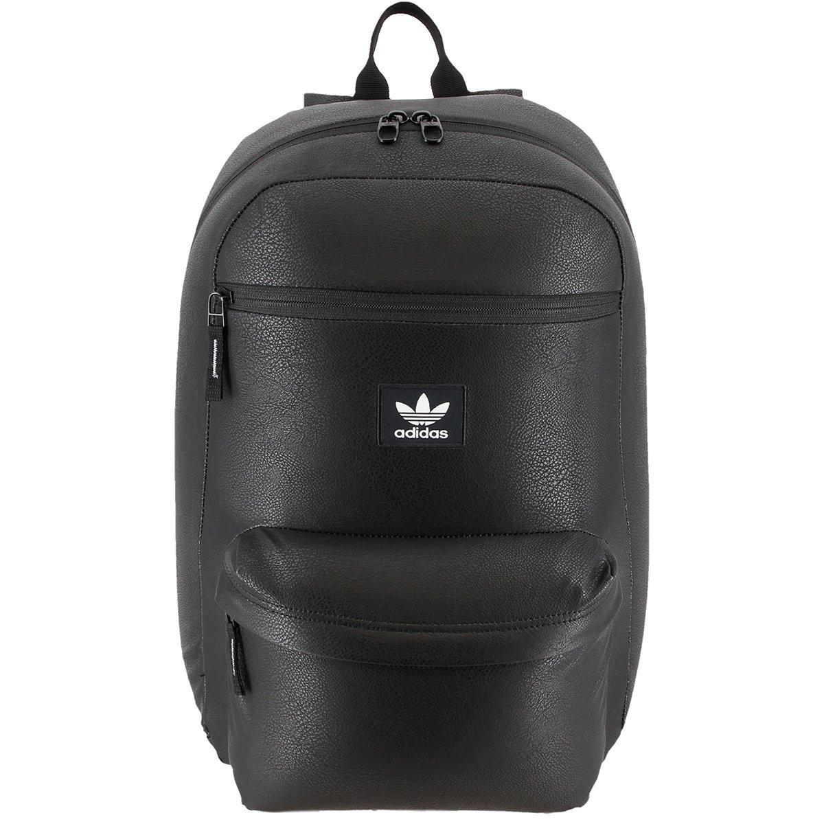 Cuero Zoom Negro Talla Nacional Adidas Mochila Originals Pu Cargando xAptBXn
