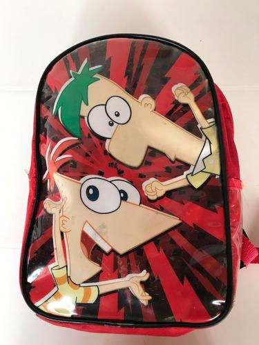 mochila nene roja impecable!