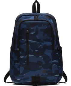 Soleday Access All Backpack Azul Mochila Nike Camuflada W92HIEYD