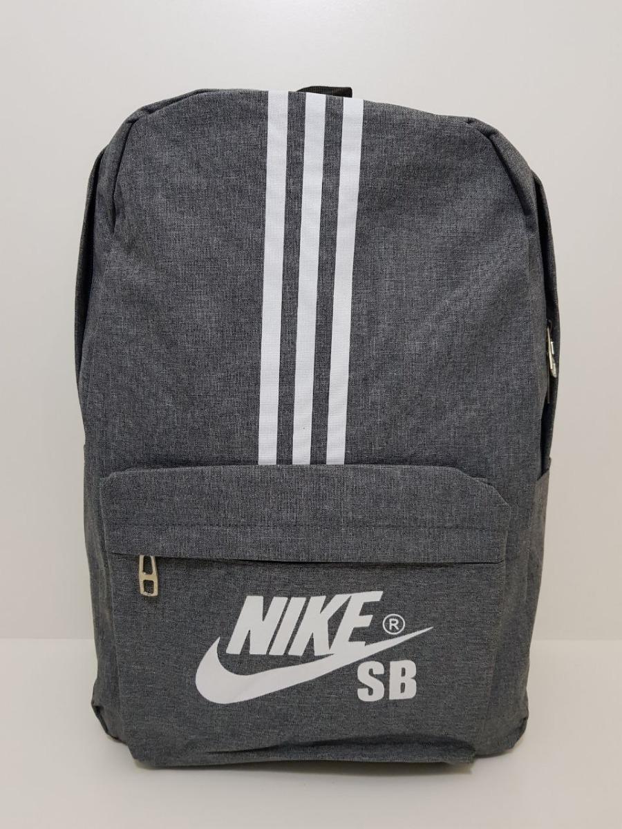 fde418c53 mochila nike bolsa costas esportiva escolar cinza 2018 e173. Carregando zoom .