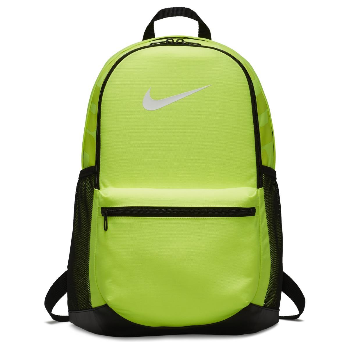 d90741c48 Mochila Nike Brasilia Medium Neon -   954.00 en Mercado Libre