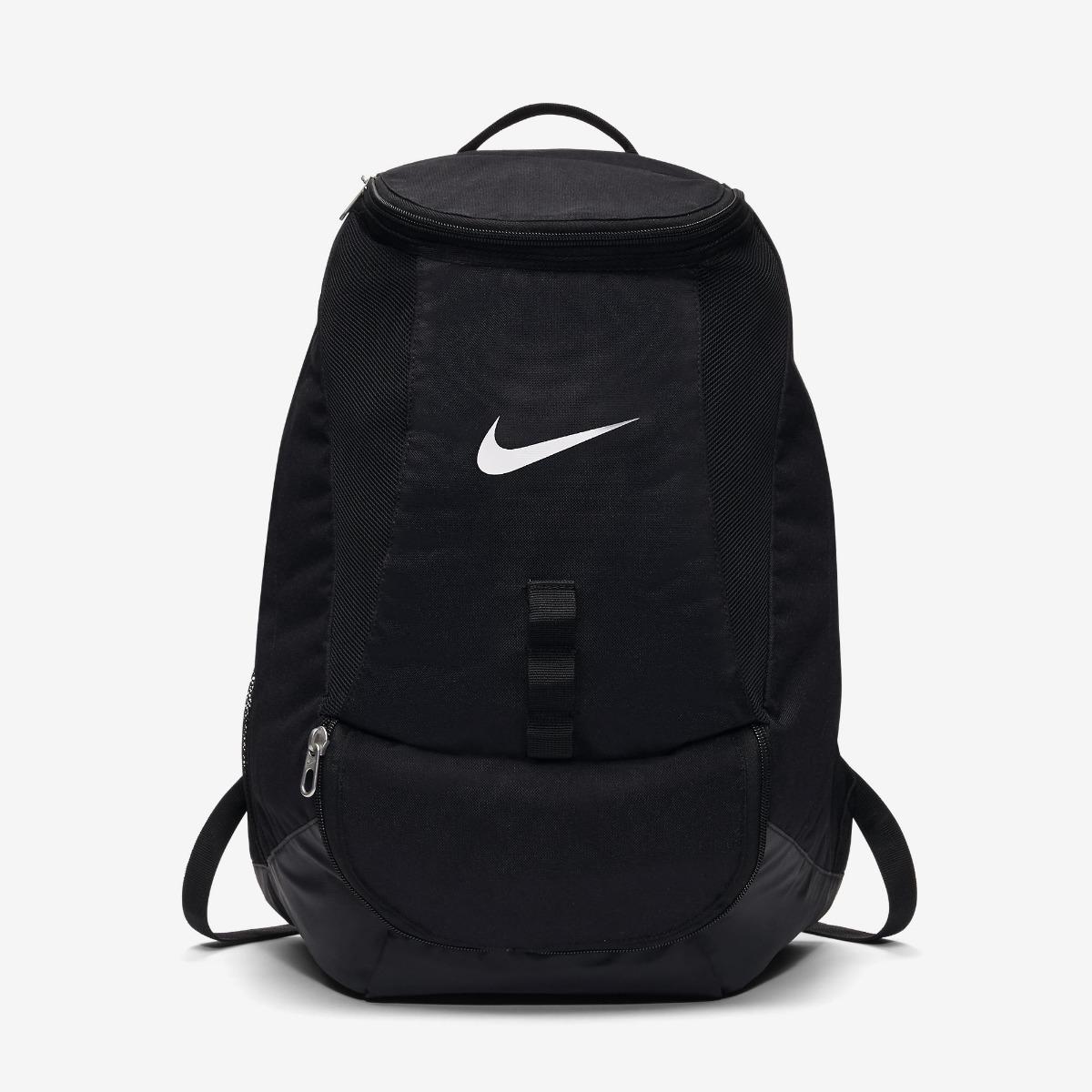 Team Preta Club Futebol Swoosh Nike Backpack Mochila wymN0Ov8n