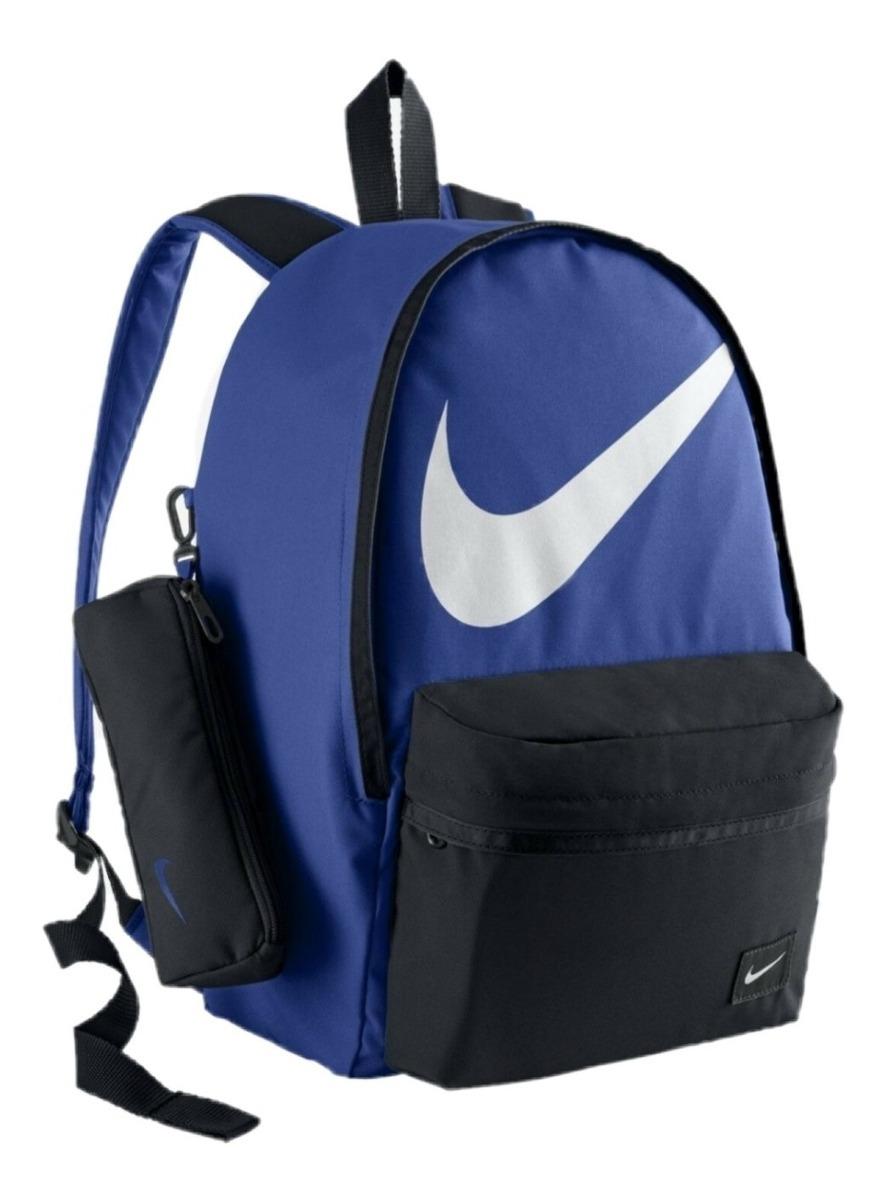 Mochila Nike Con Lapicera 100% Original, Envío Gratis