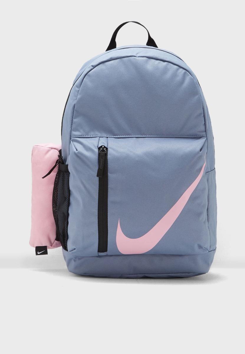 Nike Elemental Rosa Mochila Gris Original Y WE9IDH2
