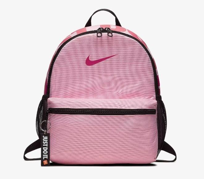 2ed9147d4c1 Mochila Nike Infantil Ba5559 Rosa preto - R  119