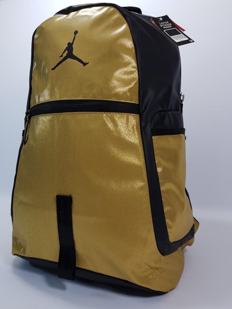 mochila nike jordan reflector backpack gold. Cargando zoom. baa18d0626eaf