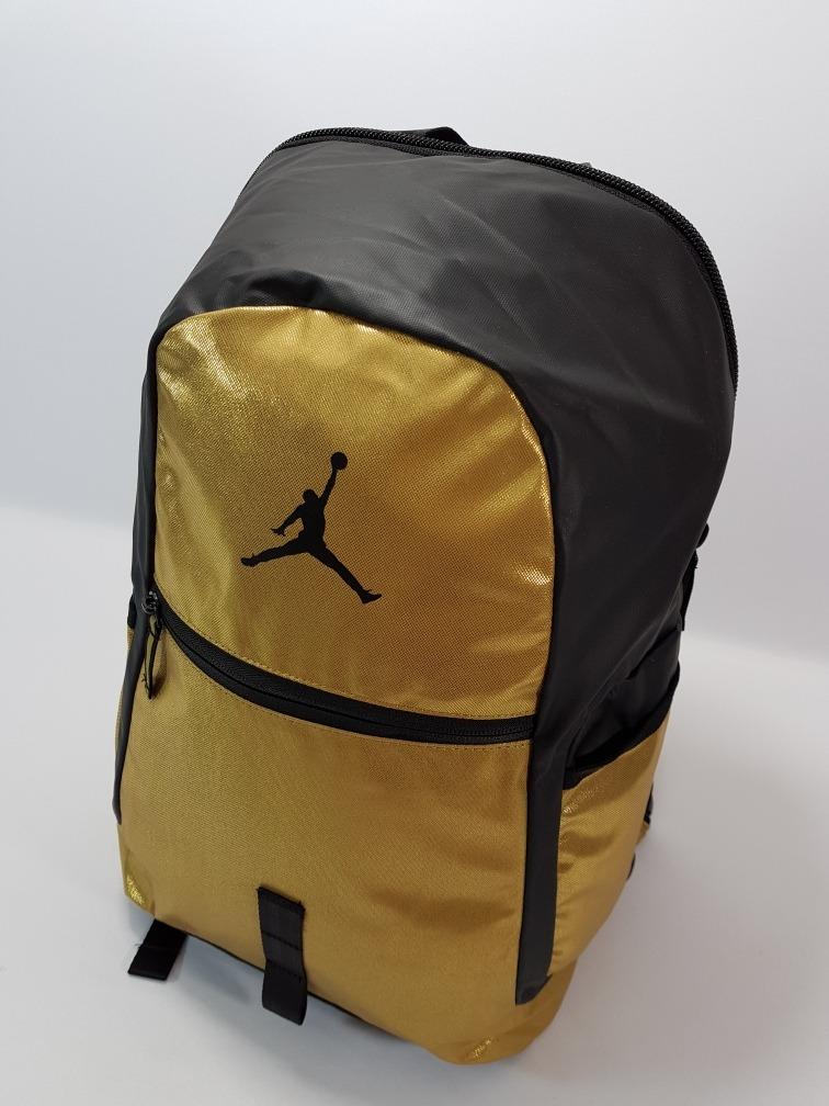 mochila nike jordan reflector backpack gold. Cargando zoom. 95b1830ede298