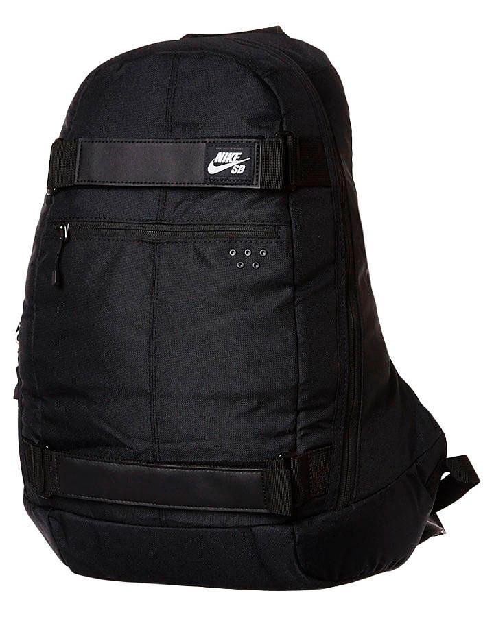 Nike Negra Mochila Skate Sb Porta Embarca Tabla Plaptop 8t4wd4