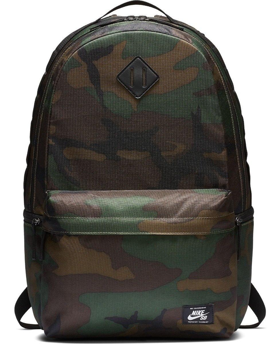 Negra Backpack 26 Camo Mochila Nike Litros Icon Sb FKlc1J