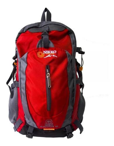 mochila nikko 40 litros viajes trekking paseos senderismo