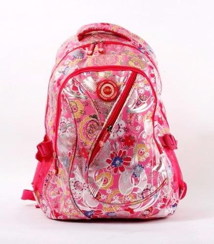 mochila niña trendy colegio club rosada