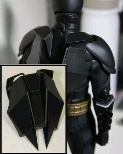 mochila no hot toys batman 1/6 dark knight tdkr dx