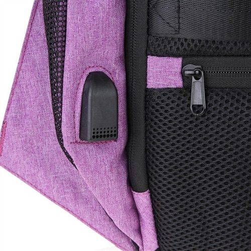 mochila notebook anti futo roubo moderna usb impermeavel