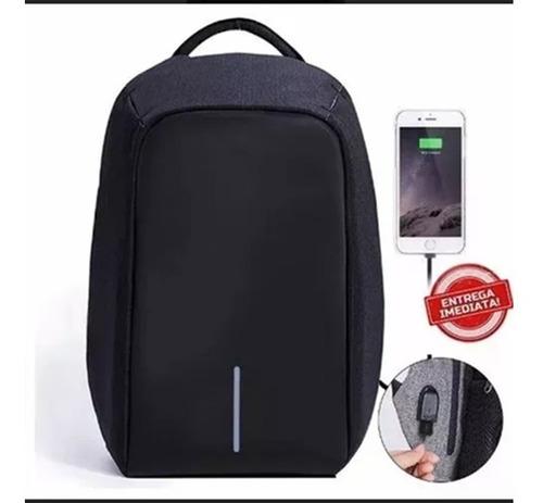 mochila notebook anti roubo furto com entrada usb impermeave