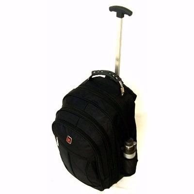 mochila notebook carrinho e rodinhas executiva viagem escola
