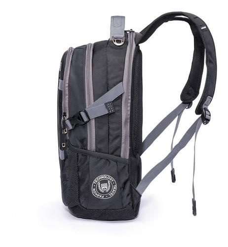 mochila notebook executiva moderna reforçada masculina preta