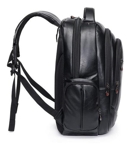 mochila notebook masculina executiva resistente swissport preta