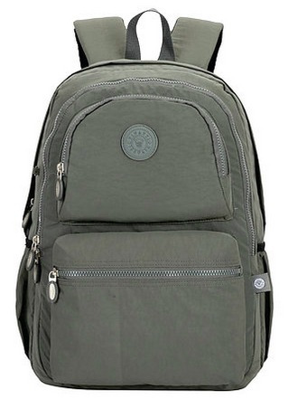 mochila notebook nylon tactel vivatti original 2507 cinza