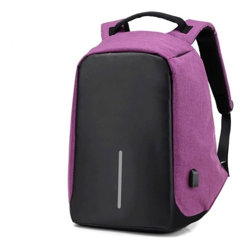 mochila notebook roubo bolsa  luxo unissex assalto protege
