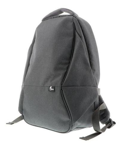 mochila notebook xtech 15,6' antirrobo gris xtb-506gy