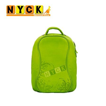mochila nyck traveler bkg backpack 14.1' green