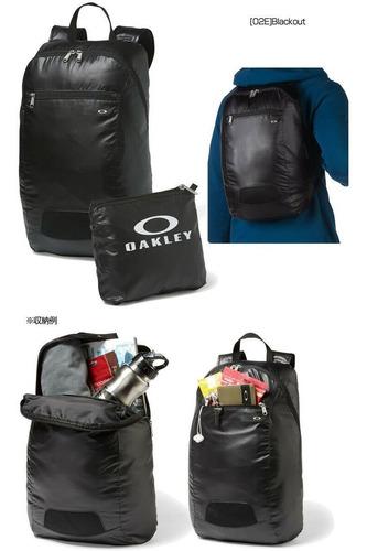 mochila oakley autoempacable portatil packable backpack