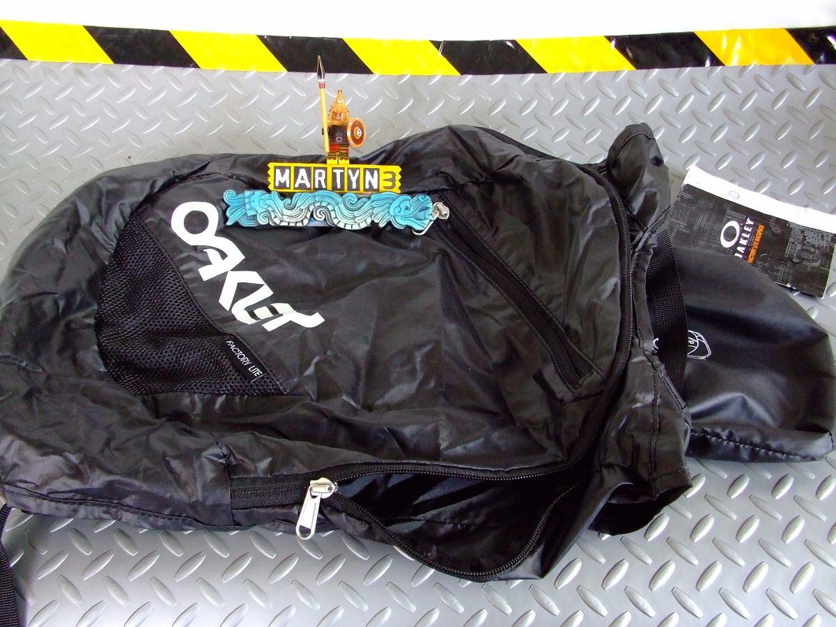 Duffel En Importada Oakley 680 Black Lite Packable Mochila 00 Swt8vqS1n