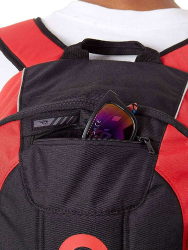 mochila oakley enduro 20l 3.0 red 20l