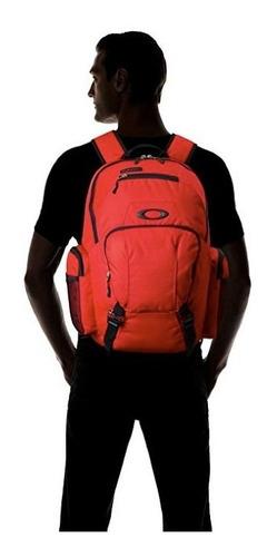mochila oakley men´s blade roja porta laptop 30 litros nueva