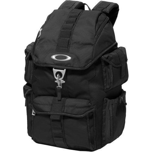 mochila oakley men's dry goods pack-001 backpack, black, one