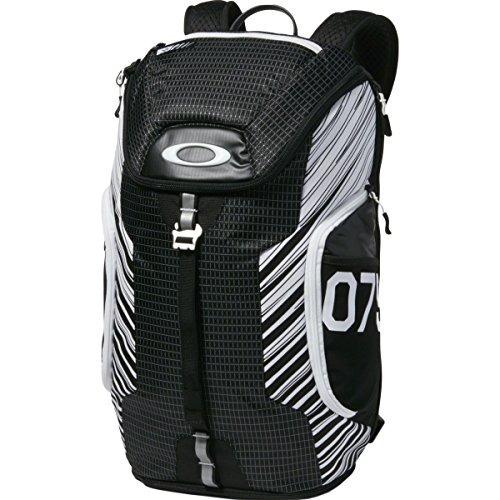 mochila oakley men's link pack p, black/white