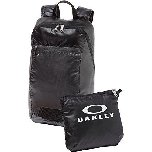 mochila oakley packable backpack, blackout one size