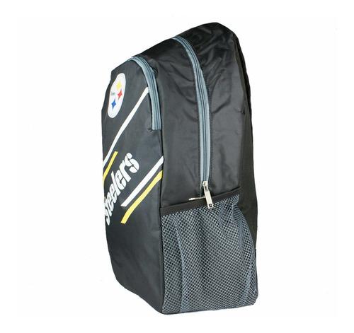 mochila oficial nfl pittsburgh steelers acereros nf18lbp-pi