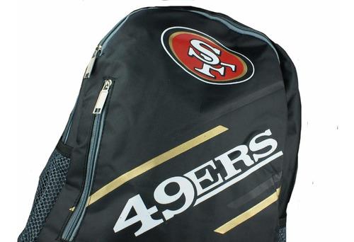 mochila oficial nfl san francisco 49ers nf18lbp-sf