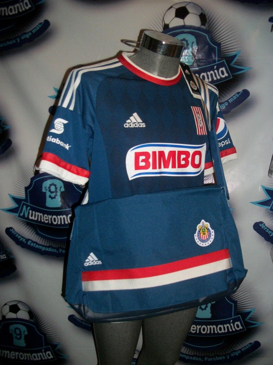 Chivas go u201call black u201d with new adidas third jersey playera chivas  adidas azul 8eeee51f43d9e