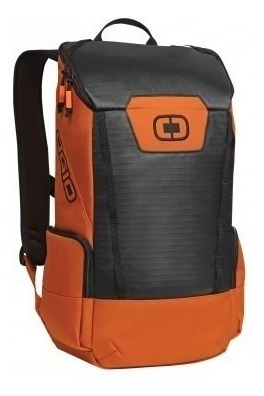 mochila ogio clutch pack orange laptop ipad deportiva