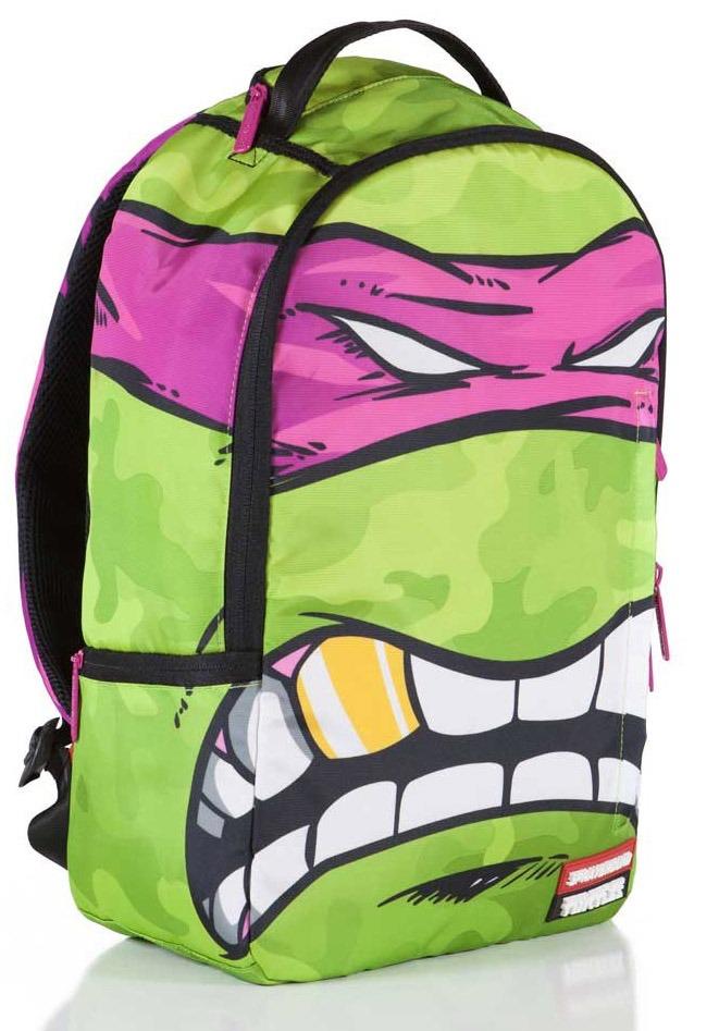 mochila original sprayground tmnt tortugas ninja pink mask. Cargando zoom. 509b28d5599