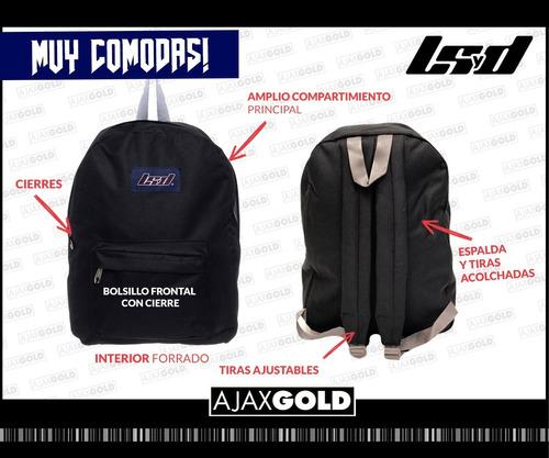 mochila original urbana reforzada grande espalda escolar