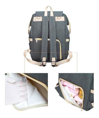 mochila pañalera bebe bolso pañalero maternidad modelo 2