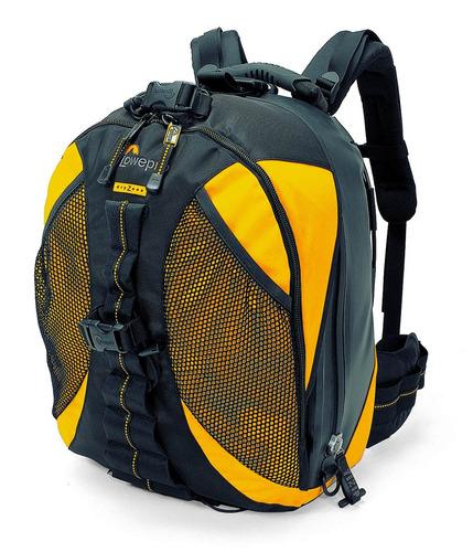 mochila para cámara dryzone 200 backpack lowepro amarillo