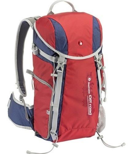 mochila para cámara fotográfica manfrotto off road 20 litros